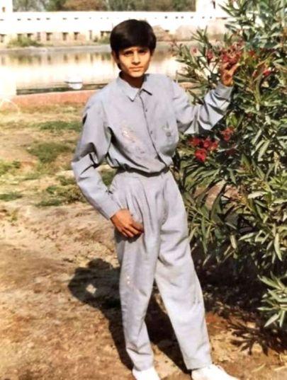 Jaideep Ahlawat Childhood Picture