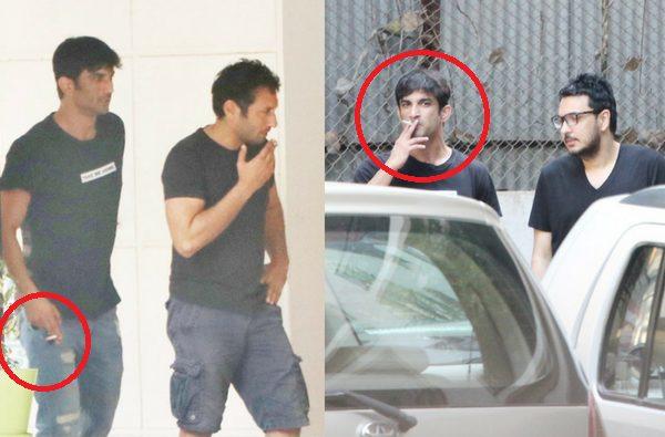 Sushant Rajput Smoking