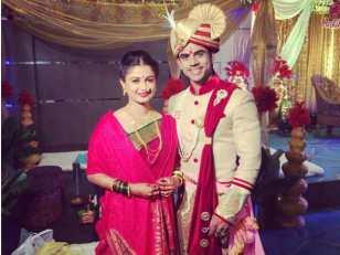 Ankit Mohan With Ruchi Savarn