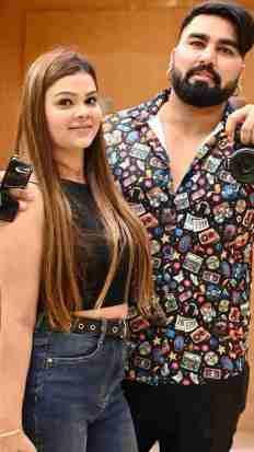 Armaan Malik With Payal Malik