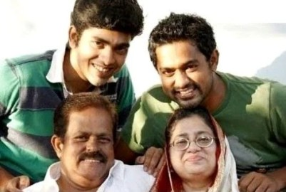 Asif Ali With His Family