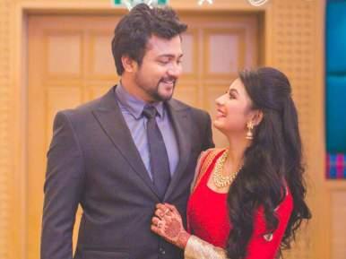 Bobby Simha With Reshmi Menon