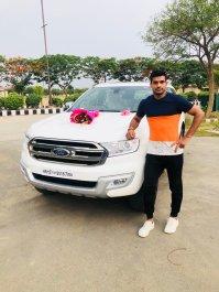 Deepak Hooda With His Car