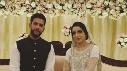 Imad Wasim With Sannia Ashfaq
