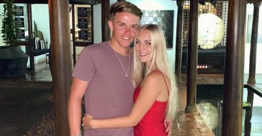 Sam Curran With Isabella Symonds
