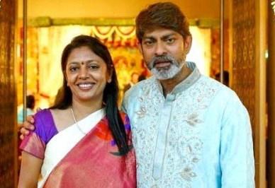 Jagapathi Babu His Wife
