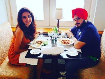 Jasmin Bhasin With Her Brother
