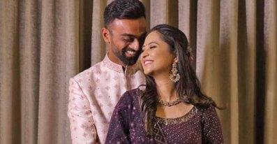 Jaydev Unadkat With Rinny
