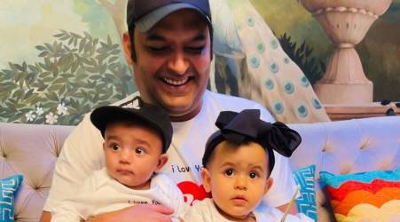 Kapil Sharma With His Children's
