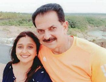 Malavika Avinash With Avinash Yelandur