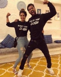 Malavika Mohanan With Vicky Kaushal