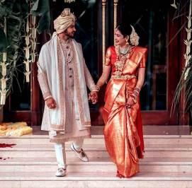 Manish Pandey With Ashrita Shetty