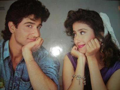Manisha Koirala With Vivek Mushran