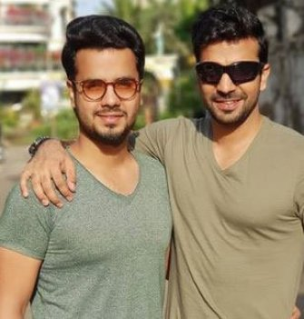 Manit Joura With His Brother