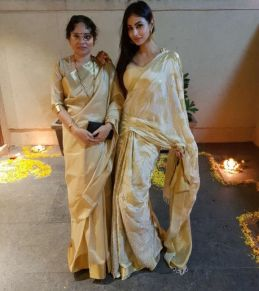 Mouni Roy With Her Mother