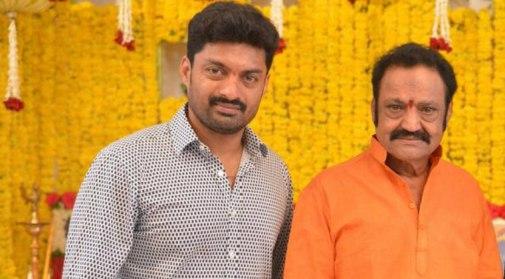 Nandamuri Kalyan Ram With His Father
