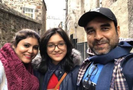 Pankaj Tripathi Wife And Daughter