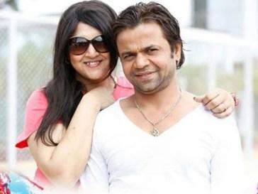 Rajpal Yadav With His Wife