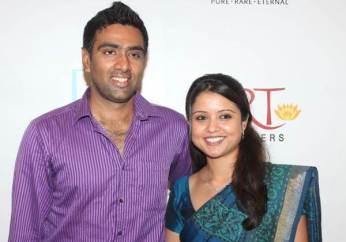 Ravichandran Ashwin With Narayanan Prithi