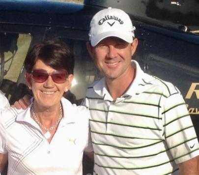 Ricky Ponting With His Mother