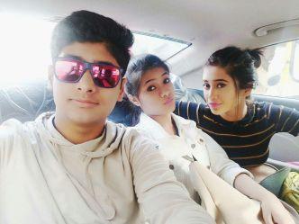 Shivangi Joshi Her Brother And Sister