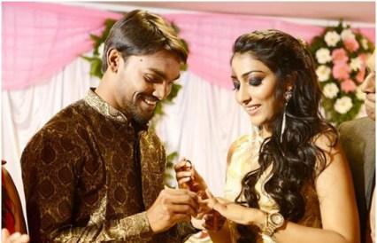 Sandeep Sharma With Tasha Sathwick