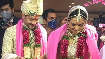 Shweta Agarwal With Aditya Narayan