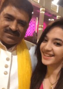 Siya Kakkar With Her Father