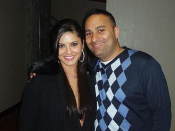 Sunny Leone With Russell Peters