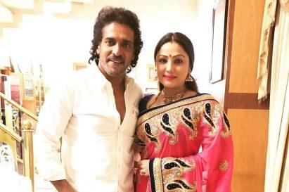 Upendra With  Priyanka Trivedi