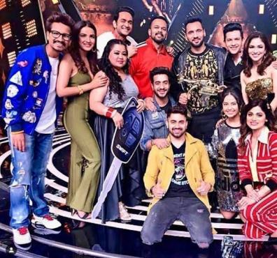 Punit Pathak as the winner of Fear Factor: Khatron Ke Khiladi 9