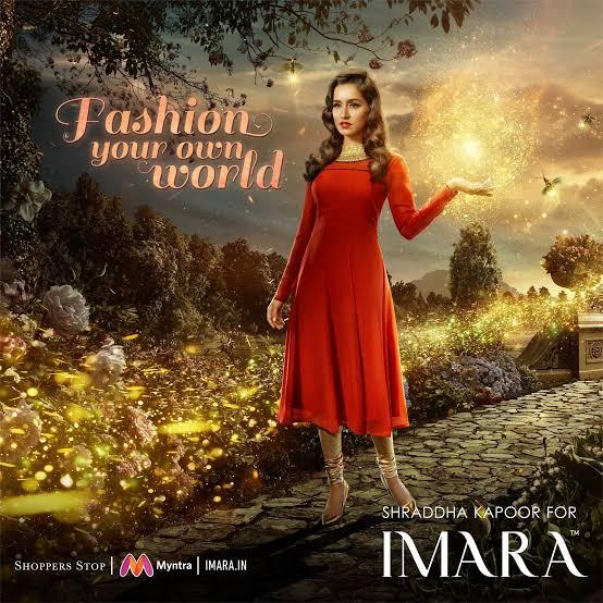 Shraddha Kapoor Imara Fashion