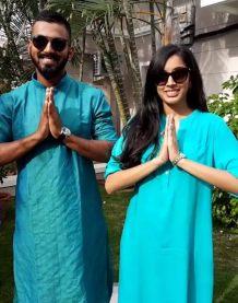 KL Rahul With Elixir Nahar