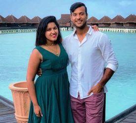 Mayank Agarwal With Aashita Sood