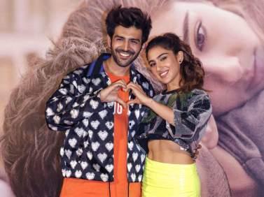 Sara And Kartik Aaryan