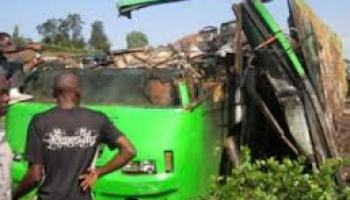 uganda bus accident in murchison