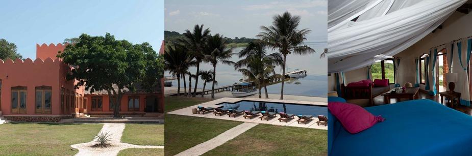 Pineapple Bay- accommodation on a uganda safari