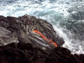 Scenery in Volcanoes National Park