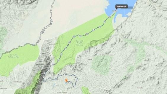 Semuliki National Park Uganda Map