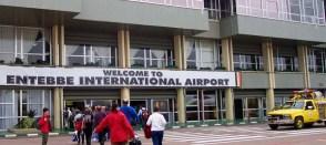 Entebbe International Airport.
