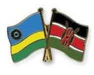 kenya Rwanda flags