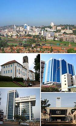 Kampala city as of 2013