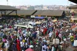 kampala -owino market
