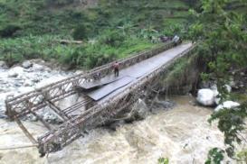 kasese bridge collapsed