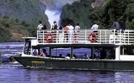 boat cruise on Murchison Falls