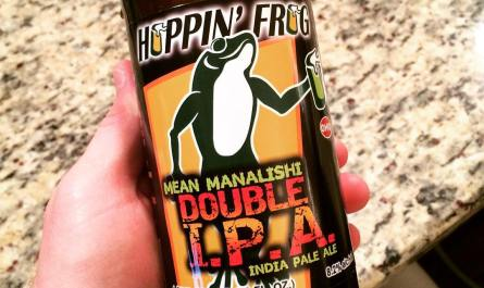 Hoppin Frog Mean Manalishi