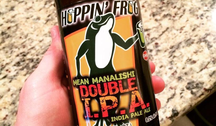 Hoppin Frog Mean Manalishi
