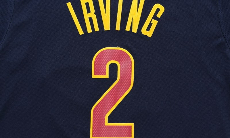 Kyrie Irving Cleveland Jersey 2
