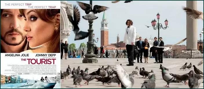 filmy o Włoszech, filmy o Wenecji, Turysta, film Turysta