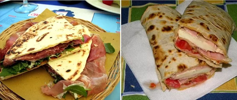 uliczne jedzenie we włoszech